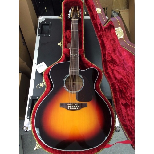 Takamine GJ72CE 12 Jumbo Cutaway String Acoustic Electric Guitar FREE CASE